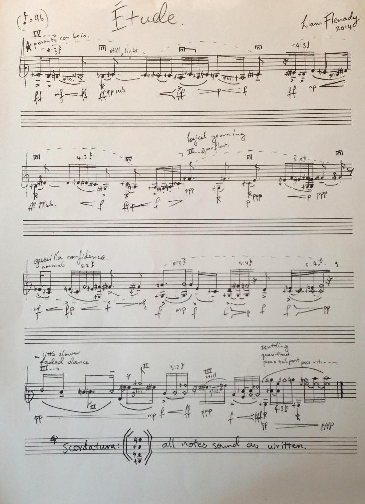 Darmstadt violin etude